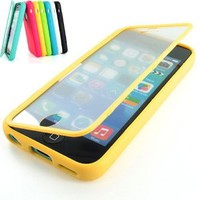 Generic Premium Full Housing Case with Front and Back Protection and Built in Screen Protector for Apple iPhone 5C