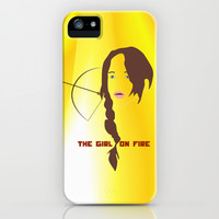 KATNISS - The Girl on Fire iPhone & iPod Case by Lauren Lee Designs