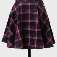 Glasgow Holiday Plaid Skirt