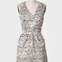 Here's To Dreaming Jacquard Dress