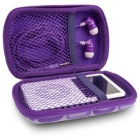 JLAB JPTC82 Samba Travel Case for JBuds J2 Earbuds - Purple