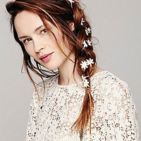 Vida Kush Womens Floral Braid Ins -
