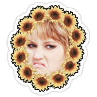 Jennifer Lawrence - Sunflower Garland