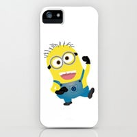 MINION...SAY WHAT?  iPhone & iPod Case by Lauren Lee Designs