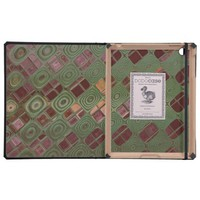Green Swirls and Earth Tones iPad Covers