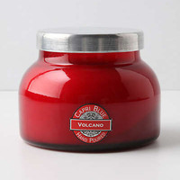 Capri Blue Jar Candle, Red