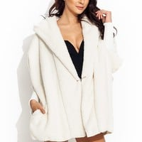 Such-A-Softie-Hooded-Jacket BLACK IVORY - GoJane.com