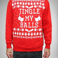 Ugly Jingle My Balls Sweater