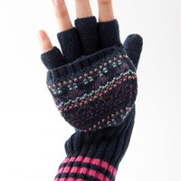 Smitten with Mittens Fingerless Gloves - Navy