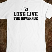Funny Walking Dead-Inspired 'Long Live the Governor' T-Shirt