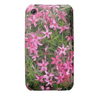 Pink Flowers iPhone 3G/3GS Case