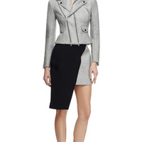 Neoprene Biker Jacket by Josh Goot Now Available on Moda Operandi