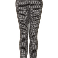 Poppy Jacquard Treggings