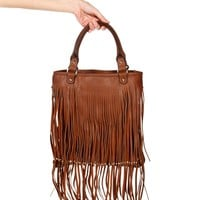 Tan Fridge Boho Bag
