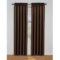 Walmart: Eclipse Samara Blackout Energy-Efficient Curtain, Set of 2 Bundle