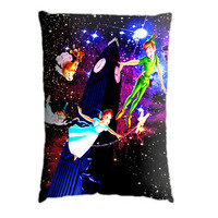 Peter Pan Never Grow Up. Pillow Case Cover Custom Design. Select the option for size