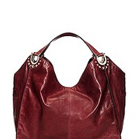 Topanga Leather Large Tote Bag
