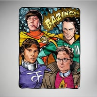 The Big Bang Theory Cosplay Fleece Blanket
