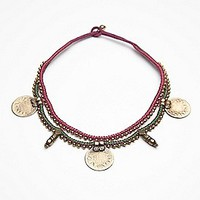Coins Massai Collar