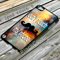 dont touch my phone design case for ipod touch 5 from shayuti accessories