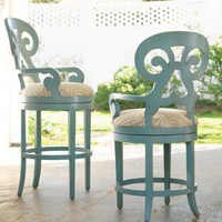 Somerset Bay Carmel Swivel Stool