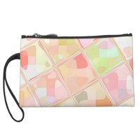 Re-Created Mirrored SQ Wristlet Purse