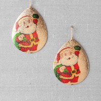 SECRET SANTA TEARDROP EARRINGS