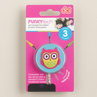 Owl Headphone Splitter