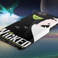 WICKED Musical 3D iPhone Cases for iPhone 4,iPhone 4s,iPhone 5,iPhone 5s,iPhone 5c,Samsung Galaxy s3,Samsung Galaxy s4