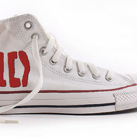 1D Custom Shoes 'Hand Painted' One Direction