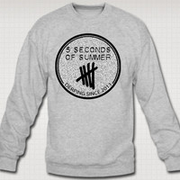 5 Seconds of Summer signature Sweatshirt Crew Neck - TeeeShop