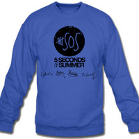 5 Seconds of Summer Sweatshirt Crew Neck - TeeeShop