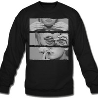 thats how i roll blunt Sweatshirt Crew Neck - TeeeShop