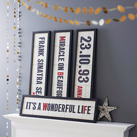 Personalised Cinema Marquee Print