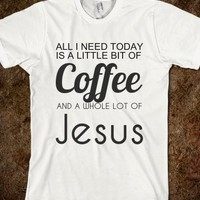 Coffe and jesus