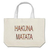 African Vintage Faddy Colors Hakuna Matata Bag