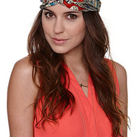 With Love From CA Dreamcaatcher Print Headband at PacSun.com