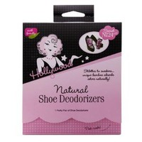 Hollywood Fashion Secrets Natural Shoe Deodorizers