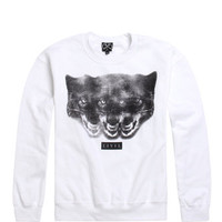 Civil Tri Wolf Head Crew Fleece at PacSun.com