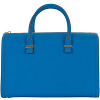 Victoria Beckham Mini Blue Victoria Bag | Bags by Victoria Beckham | Liberty.co.uk