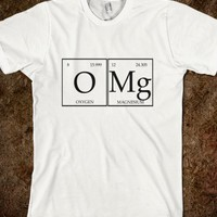 Skreened OMG Periodic Table Tee