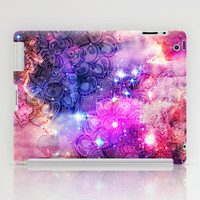 Doodles in Deep Space iPad Case by micklyn