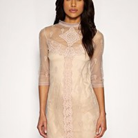 Oasis | Oasis Victoriana Lace Dress at ASOS