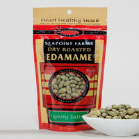 DRY ROASTED LIGHTLY SALTED EDAMAME