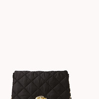 Quilted Fold Over Crossbody