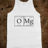Skreened OMG Periodic Table Tank Top