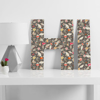 Betsy Olmsted Budding Peonies Decorative Letters