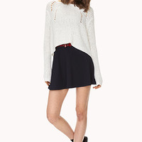 Prep School Skater Skirt w/ Belt