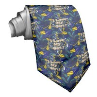 Retro Hakuna matata Infinity I Love my Girl.jpg Neckties