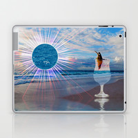 BEACH FANTA-SEA Laptop & iPad Skin by catspaws